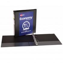 AVE5725 - 1 1/2In Capacity Black View Binder in Folders