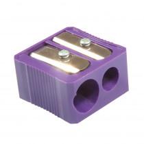 BAUMMR3320 - Dual Hole Plastic Pencil Sharpener in Pencils & Accessories