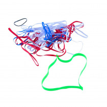 PlastiBands Assorted Sizes, Assorted Colors, Pack of 100 - BAUMSF7000 | Baumgartens Inc | Mailroom