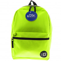 BAZ1034 - 16In Lime Green Collection Backpk in Accessories