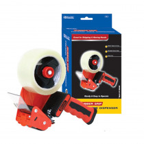 Rubber Grip Premium Comfort Packing Tape Dispenser - BAZ991 | Bazic Products | Tape & Tape Dispensers
