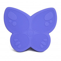 Wiggle Seat Sensory Cushion, Purple Butterfly - BBAWSSBUPU | Bouncy Bands | Floor Cushions