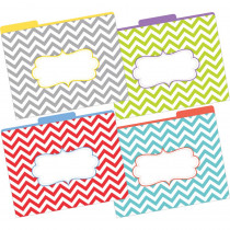 BCPLL1331 - Letter Size File Folders Chevron Beautiful Multi-Design Set in Folders