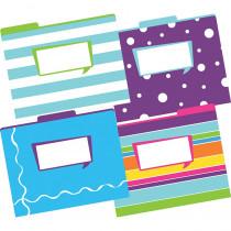 BCPLL1334 - Letter Size File Folders Happy Multi-Design Set in Folders