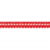 BCPLL900 - Happy Cherry Double-Sided Border Scalloped Edge in Border/trimmer
