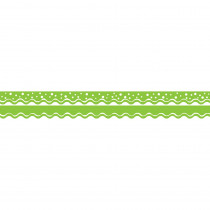 BCPLL995 - Happy Lime Border Double-Sided Scalloped Edge in Border/trimmer
