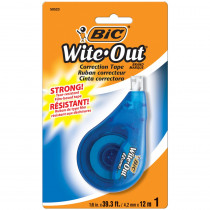 BICWOTAPP11 - Bic Wite Out Ez Correct Correction Tape Single in Liquid Paper