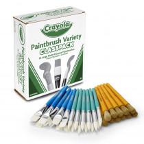 BIN050036 - Crayola Paintbrush Variety Classpk in General