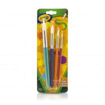 BIN053521 - Crayola Big Paintbrush St Round 4Pk in General