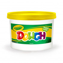 BIN1534 - Modeling Dough 3Lb Bucket Yellow in Dough & Dough Tools