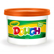 BIN1536 - Modeling Dough 3Lb Bucket Orange in Dough & Dough Tools