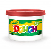 BIN1538 - Modeling Dough 3Lb Bucket Red in Dough & Dough Tools