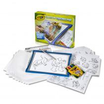 Light-Up Tracing Pad, Blue - BIN40136 | Crayola Llc | Art Activity Books