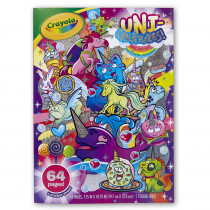 Uni-Creatures! Coloring Book - BIN40425 | Crayola Llc | Art Activity Books