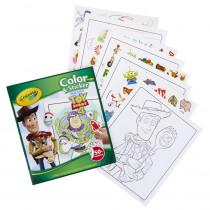 Color & Sticker, Toy Story 4 - BIN40544 | Crayola Llc | Art Activity Books