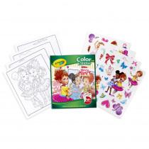 Color & Sticker, Fancy Nancy - BIN40545 | Crayola Llc | Art Activity Books