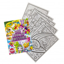 Epic Book of Awesome 288-Page Coloring Book - BIN40585 | Crayola Llc | Art Activity Books