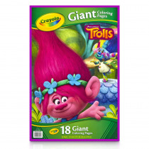 Giant Coloring Pages, Trolls - BIN46922 | Crayola Llc | Art Activity Books