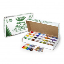BIN523349 - Crayola Crayon Marker Combo Classpk in General