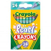 Pearl Crayons, 24 Colors - BIN523409 | Crayola Llc | Crayons