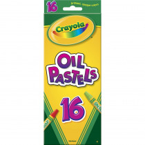 BIN524616 - Crayola Oil Pastels 16 Color Set in Pastels