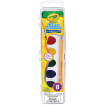 BIN530527 - Crayola Wash Watercolor Glitter 8Pk in General