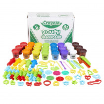 Classpack Dough with Clay Tools - BIN570172 | Crayola Llc | Dough & Dough Tools