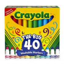 BIN587858 - Crayola Wash Broad Line Marker 40Pk in General