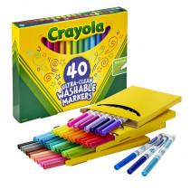 BIN587861 - Crayola Wash Fine Line Marker 40Pk in General