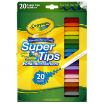 BIN588106 - Washable Markers 20Ct Super Tips W/Silly Scents in Markers