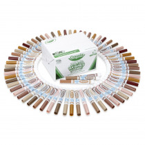 BIN588217 - Crayola Multicultural 80Ct 8 Colors Washable Markers in Markers