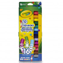 BIN588703 - Pip Squeaks Markers 16 Ct Short Washable In Peggable Pouch in Markers
