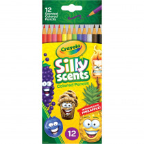 Silly Scents Colored Pencils, Sweet Scents, Pack of 12 - BIN682112 | Crayola Llc | Colored Pencils