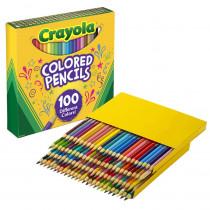 BIN688100 - Crayola Colored Pencils 100 Colors in General