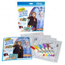 Color Wonder Mess Free Frozen 2 Glitter Effects Set - BIN752449 | Crayola Llc | Art Activity Books