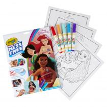 Color Wonder Mess Free Coloring Pad & Markers, Princess - BIN757003 | Crayola Llc | Art Activity Books