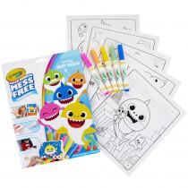 Color Wonder Mess Free Coloring Pad & Markers, Baby Shark - BIN757103 | Crayola Llc | Art Activity Books