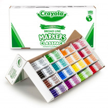 BIN8201 - Classpack Marker 16 Colors 256 Ct in Markers