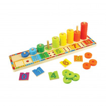 BJT531 - Learn To Count in Wooden Puzzles