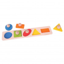 BJTBB040 - Matching Board Puzzle Shapes in Wooden Puzzles