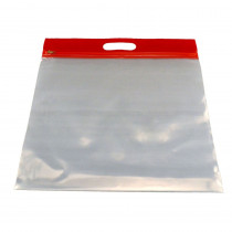 BOBZFH1413R - Zipafile Storage Bags 25Pk Red in Storage Containers