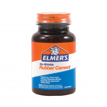 BORE904 - Elmers Rubber Cement 4 Oz in Adhesives