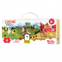 Looong Puzzle Stables - BPN49028 | Banana Panda | Floor Puzzles