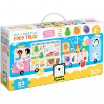 Make-a-Match Puzzle Food Truck - BPN49045 | Banana Panda | Floor Puzzles