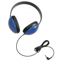 CAF2800BL - Listening First Stereo Headphones Blue in Headphones