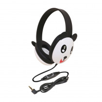 CAF2810PA - Listening First Animal-Themed Stereo Headphones Panda in Headphones