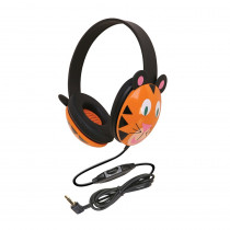CAF2810TI - Listening First Animal-Themed Stereo Headphones Tiger in Headphones