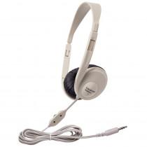 CAF3060AV - Translucent Multimedia Stereo Head Phones Beige in Headphones