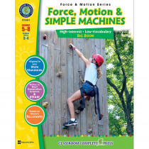 CCP4511 - Force Motion & Simple Machines Big Book in Simple Machines