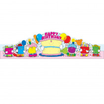 CD-0232 - Birthday Crowns 2-Tier Cake 30/Pk in Crowns